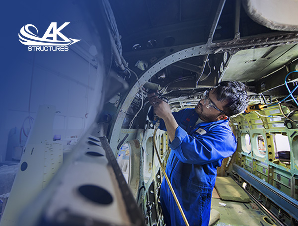 Aerokool Aviation technician at work