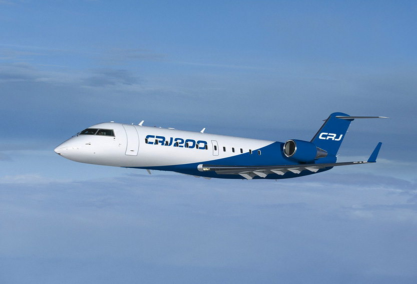 Regional aircraft CRJ200