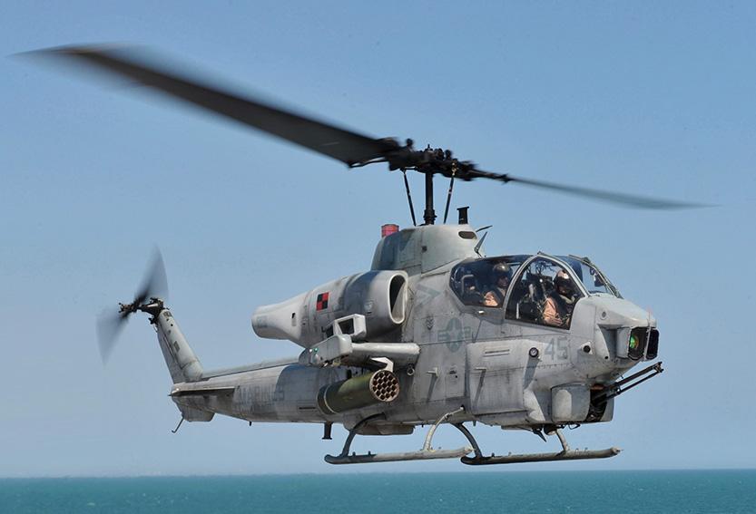 Helicopter Cobra AH1